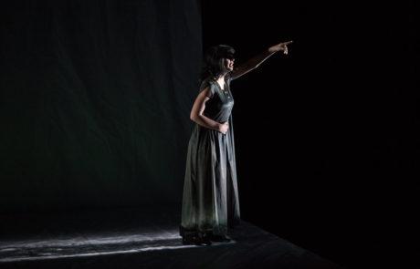Gabrielle Marion-Rivard pendant sa performance dans P